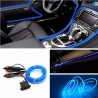 Fir neon, lumina ambientala auto - Albastru (3M lungime)