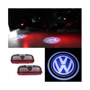 Set 2 proiectoare holograme led logo VW