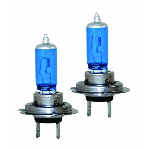 Set Halogen H7 12v 100W - Blue Vision, Ultra White