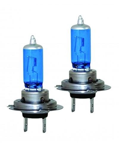Set Halogen H7 12v 100W - Blue Vision, Ultra White