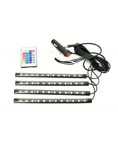 Banda led RGB cu telecomanda 22cm, 12 SMD - 12V