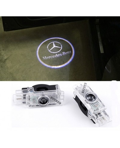 Set 2 proiectoare holograme led logo MERCEDES