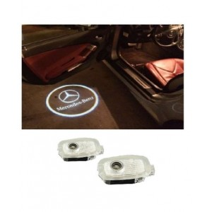 Set 2 proiectoare holograme led logo MERCEDES S CLass