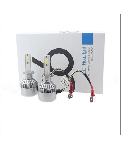 Becuri LED H1, 7600 Lumeni C6, 36W