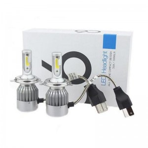 Kit LED Auto H7, 36w, 6000k C6, 3800 lumeni