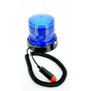 Girofar flash ROSU 12V cu magnet
