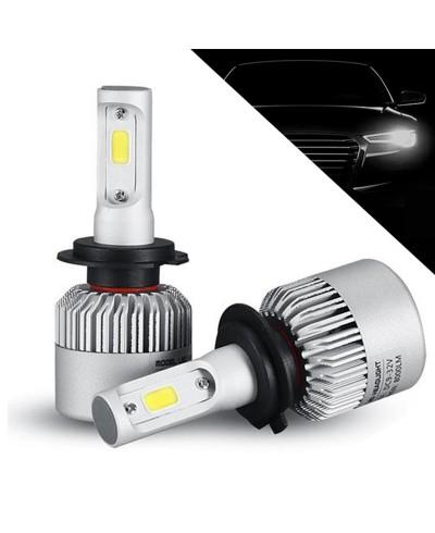 Becuri LED H7, 8000 Lumeni S2 36W, 12v-24v