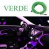 Fir neon, lumina ambientala auto - Alb (3M lungime)